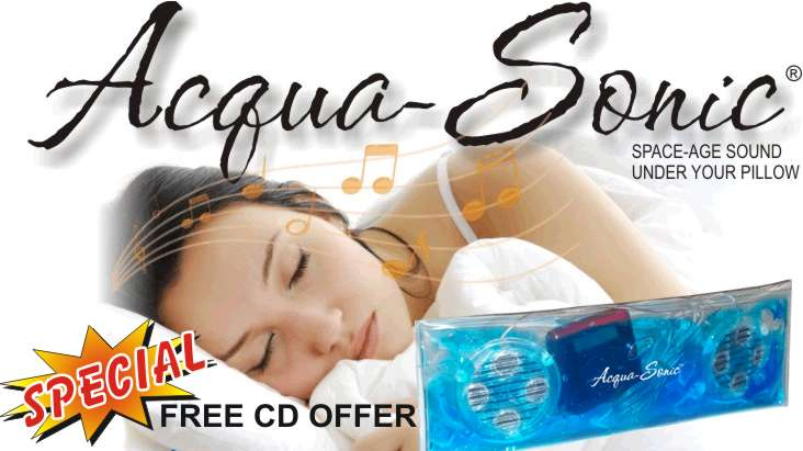 Buy a Pillow Speaker and Get 1 FREE CD of Your Choice!